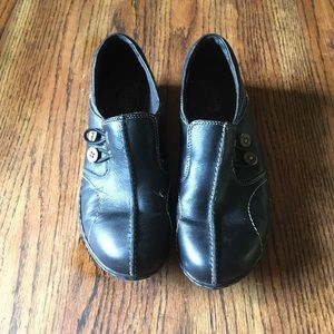 Clark's leather shoes